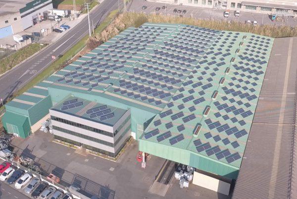 Instalación de autoconsumo en Retsa, A Coruña - Eidf Solar
