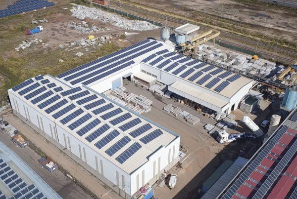 Instalación de autoconsumo en Euroroca Pavimentos, Pontevedra - EDF Solar