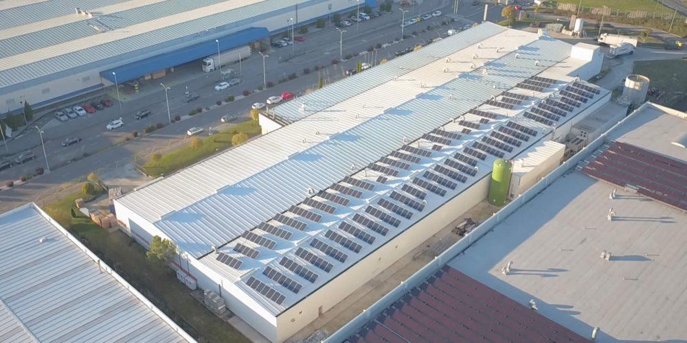 Instalación de autoconsumo en Coren CTI Ourense - EDF Solar