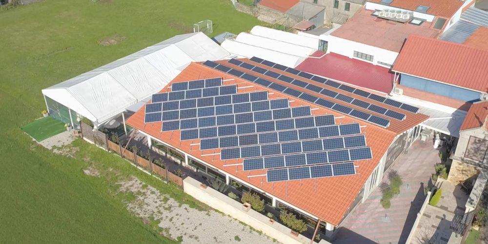 Instalación de autoconsumo fotovoltaico en Mesón A Taberna, A Coruña - EDF Solar