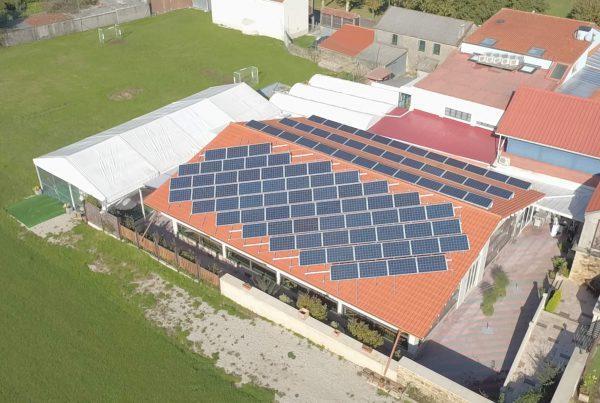 Instalación de autoconsumo fotovoltaico en Mesón A Taberna, A Coruña - Eidf Solar