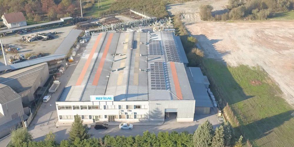 Instalación de autoconsumo fotovoltaico en Refigal, Ourense - EDF Solar