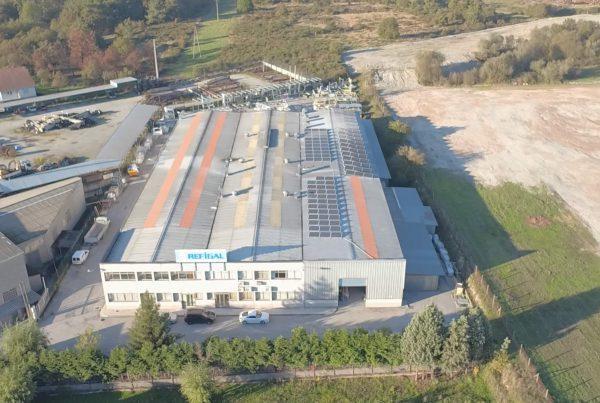 Instalación de autoconsumo fotovoltaico en Refigal, Ourense - Eidf Solar