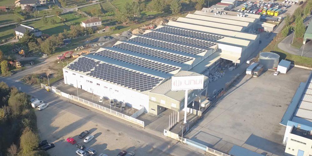 Instalación de autoconsumo fotovoltaico en Unvi, Ourense - EDF Solar