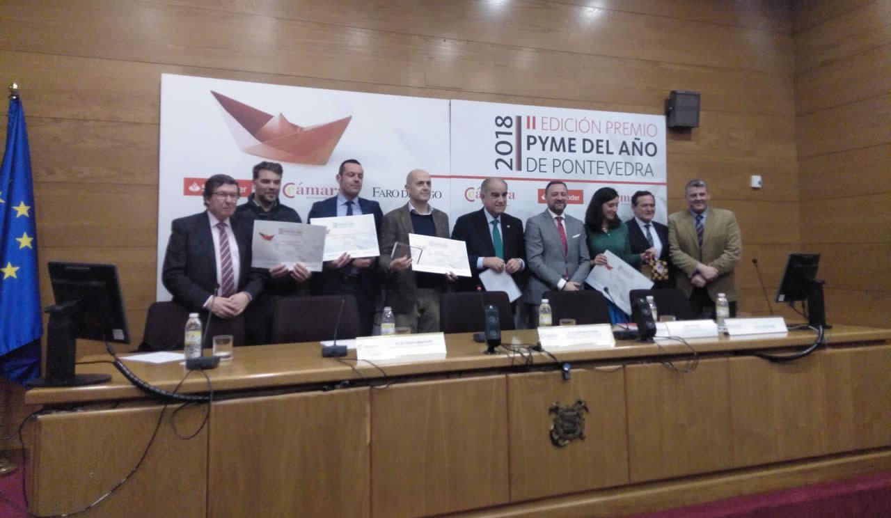 EDF Solar accésit en Pyme del Año en Pontevedra 2018