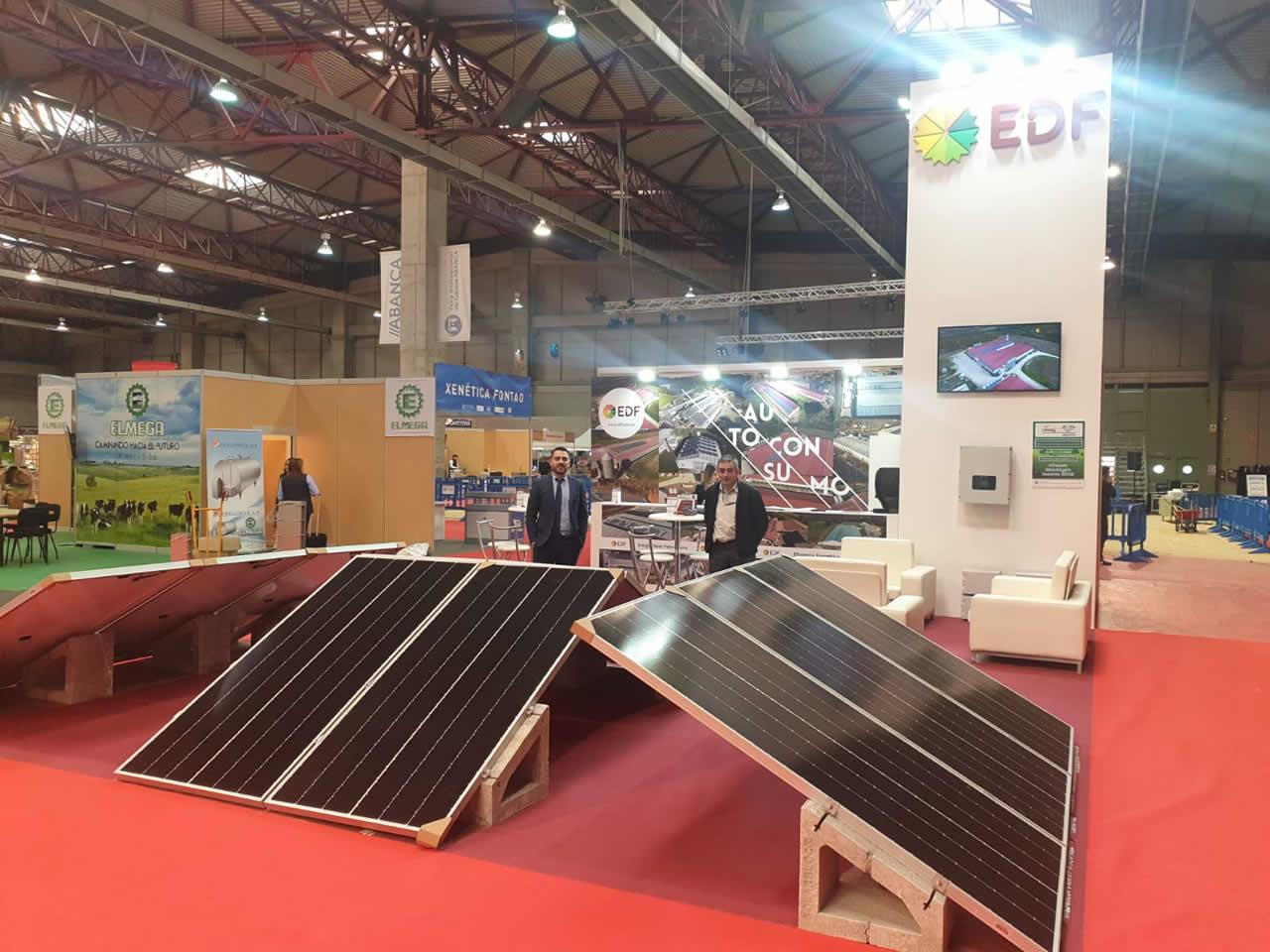 EDF Solar en feria Cimag Gandagro 2019