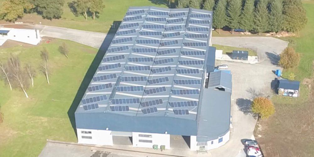 Instalación de autoconsumo en Internaco, A Coruña - EDF Solar