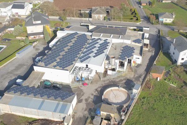 Instalación de autoconsumo industrial en FRILEA, Lugo - EDF Solar