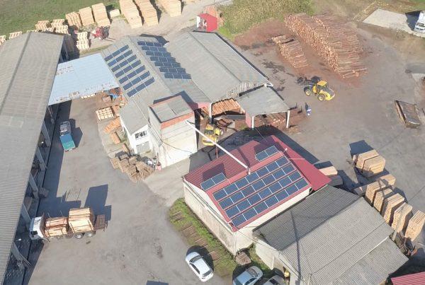 Instalación de autoconsumo en Maderas Laracha, A Coruña - Eidf Solar