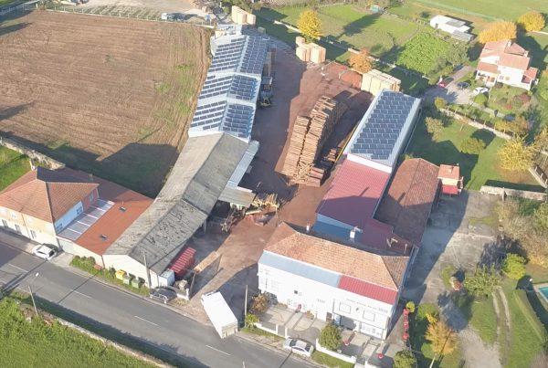 Instalación de autoconsumo en Maderas Tuiriz, Lugo - Eidf Solar