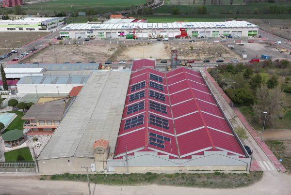 Instalación de autoconsumo en Grupo VPA Valladolid - EDF SOLAR