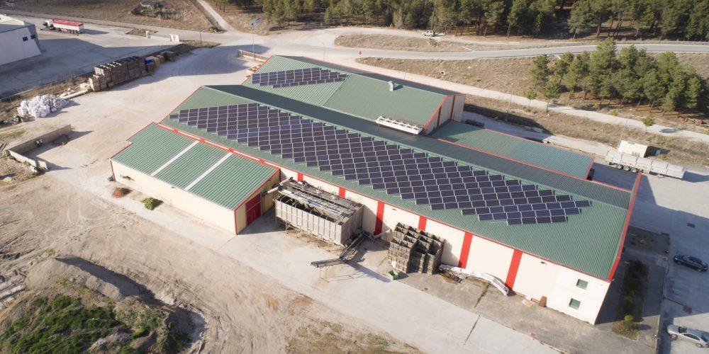 Instalación de autoconsumo en Cooperativa Glus-I Segovia - EDF SOLAR