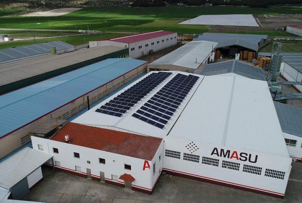 Instalación de autoconsumo en Molduras Amasu, Valladolid - EDF SOLAR