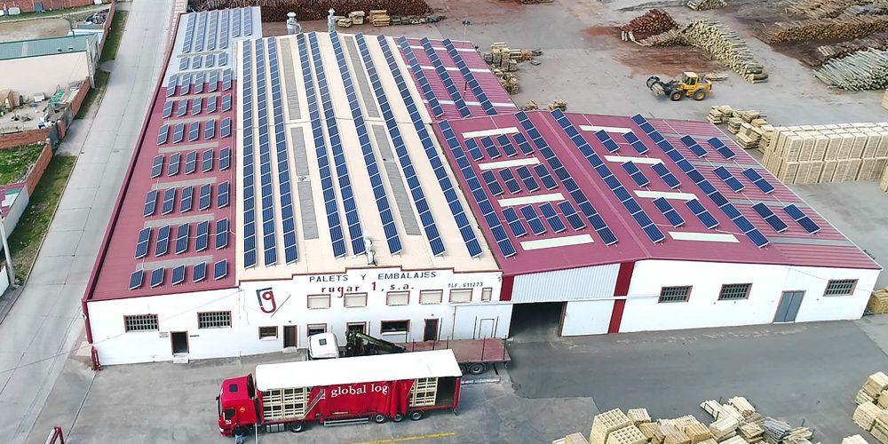 Instalación de autoconsumo en Rugar 1 SA, Valladolid - EDF SOLAR