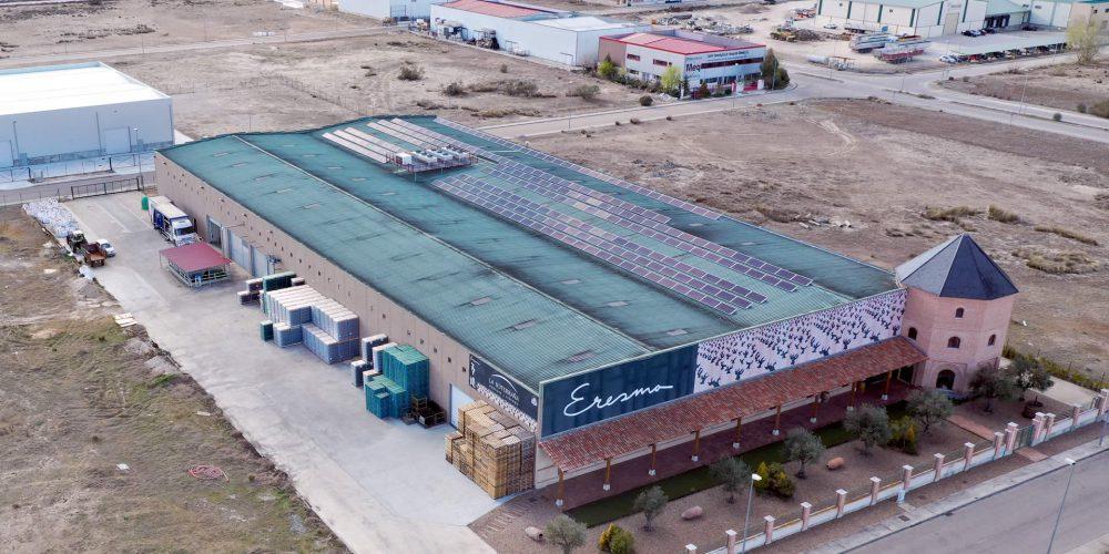 Instalación de autoconsumo en Bodegas Eresma, Valladolid - EDF Solar