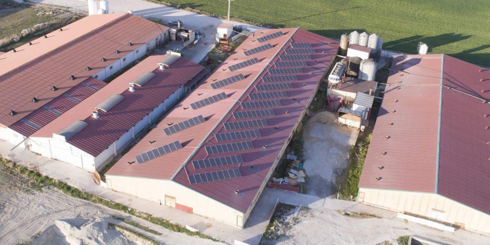 Instalación de autoconsumo en Granja Baeza, Segovia - EDF Solar
