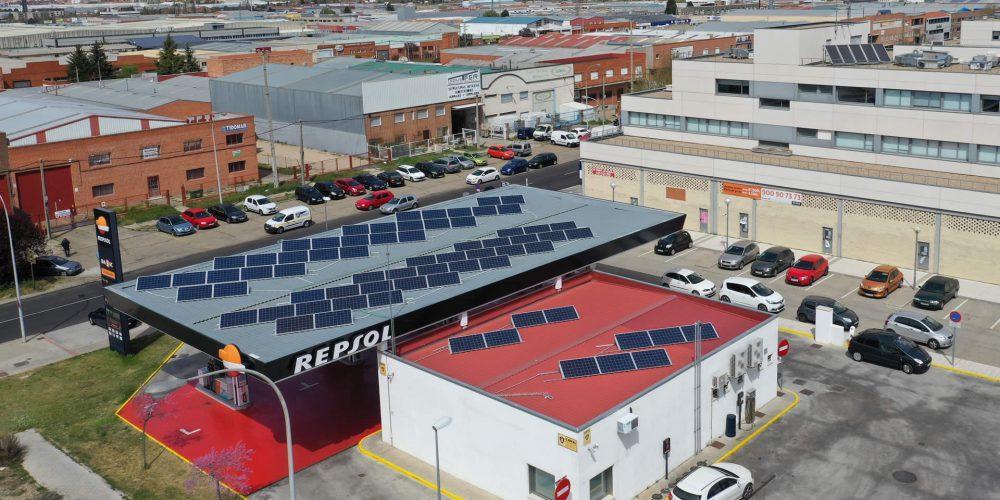 Instalación de autoconsumo en Poligas, Valladolid - EDF Solar