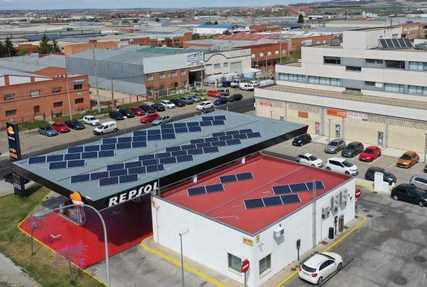 Instalación de autoconsumo en Poligas, Valladolid - Eidf Solar