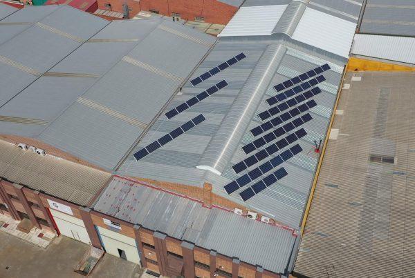 Instalación de autoconsumo en Talleres Oñate, Valladolid - Eidf Solar