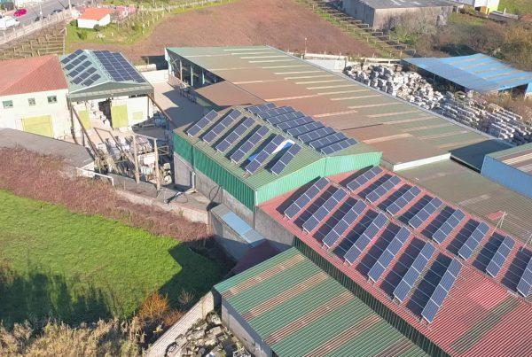 Instalación de autoconsumo en Arco Galicia, Pontevedra - Eidf Solar