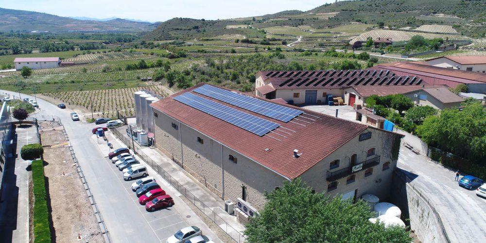 Instalación de autoconsumo industrial en Bodegas Covila, Araba - EDF SOLAR