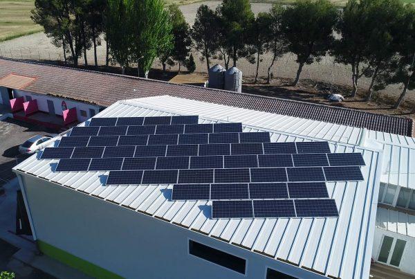 Instalación de autoconsumo en Codornices Villagrasa, Zaragoza - Eidf Solar