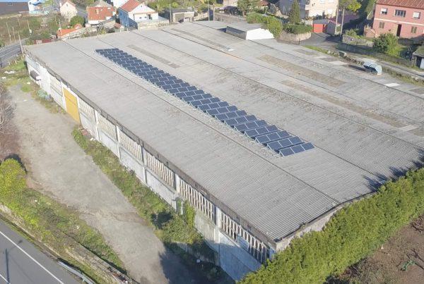 Instalación de autoconsumo en Cordelerías Marín, Pontevedra - EDF SOLAR