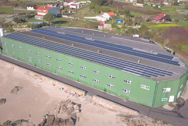 Instalación de autoconsumo en Piscícola del Morrazo, Comar - Pontevedra - EDF SOLAR