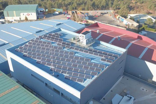 Instalación de autoconsumo en Numarsi II, Pontevedra - Eidf Solar