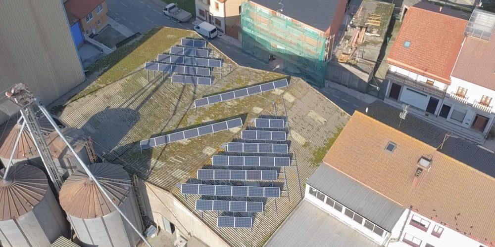 Instalación de autoconsumo industrial en Pigarcre, A Coruña - EDF SOLAR
