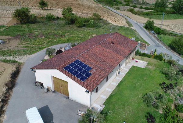 Instalación de autoconsumo en Bodegas Mitarte, Alava - Eidf Solar