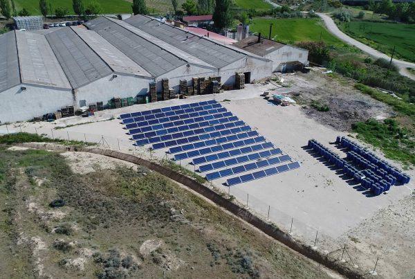 Instalación de autoconsumo en Conservas Asensio, Navarra - Eidf Solar