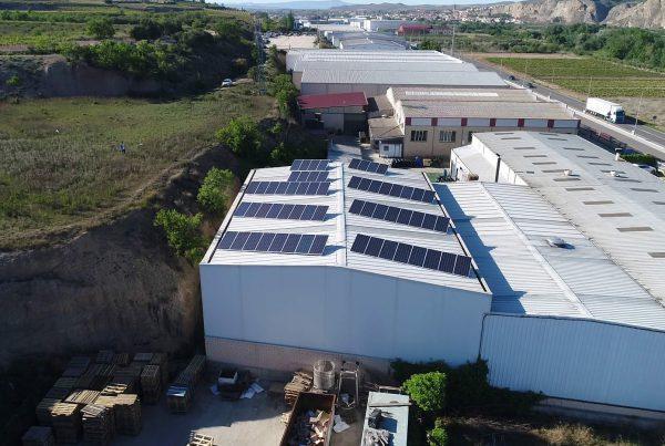 Instalación de autoconsumo industrial en Conservas El Cabildo, Navarra - Eidf Solar