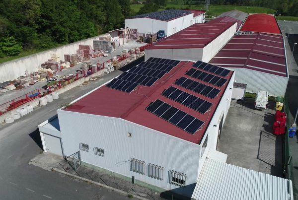 Cubierta solar para autoconsumo en Embutidos Flores, Salamanca - Eidf Solar