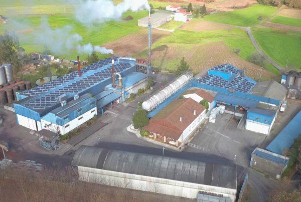 Instalación de autoconsumo industrial en Destilerías Compostela, A Coruña - EDF SOLAR