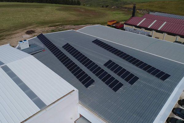 Instalación de autconsumo fotovoltaico en Hortalizas Radvi, Navarra - Eidf Solar
