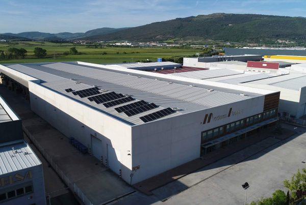 Instalación de energía solar fotovoltaica para autoconsumo en Maderas Azcona, Navarra - Eidf Solar