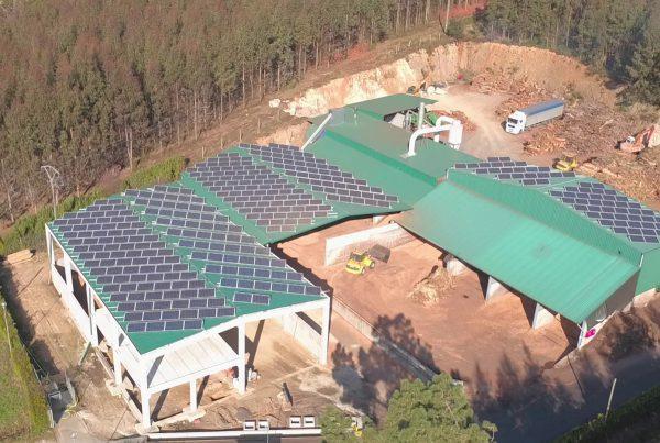 Instalación de autoconsumo en Maderas Varela Mendoza, A Coruña - Eidf Solar