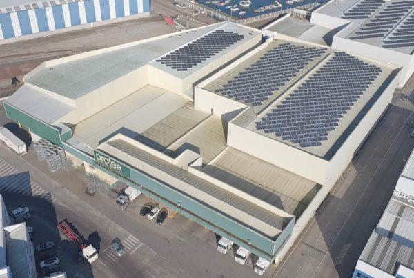 Ampliación de cubierta solar fotovoltaica en Protea, Pontevedra - EDF SOLAR