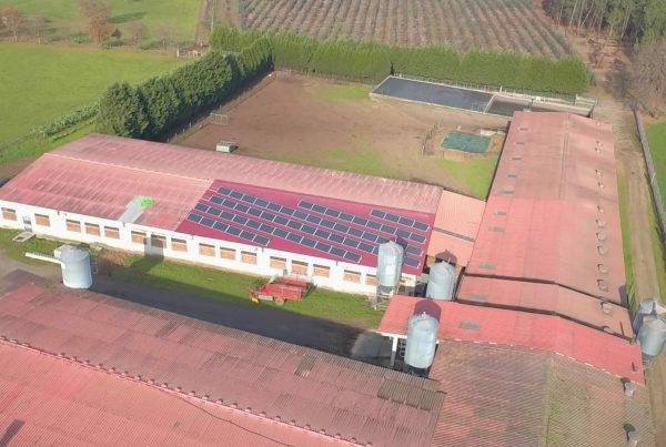 Instalación de autoconsumo en Castro de San Gregorio SAT, A Coruña - EDF SOLAR