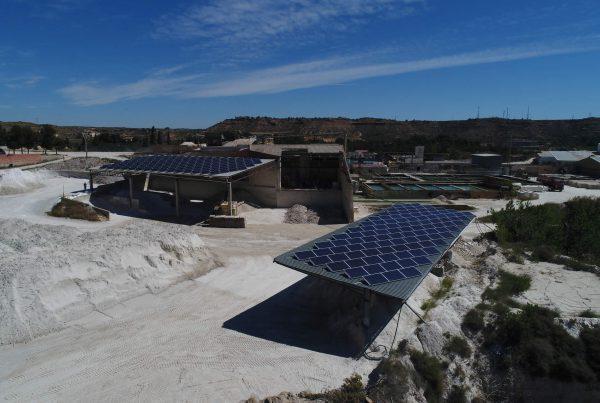 Cubierta solar fotovoltaica para autoconsumo en Syca, Teruel - Eidf Solar