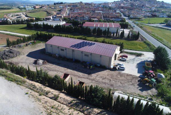 Instalación de autoconsumo en Viveros Los Arcos, Navarra - Eidf Solar