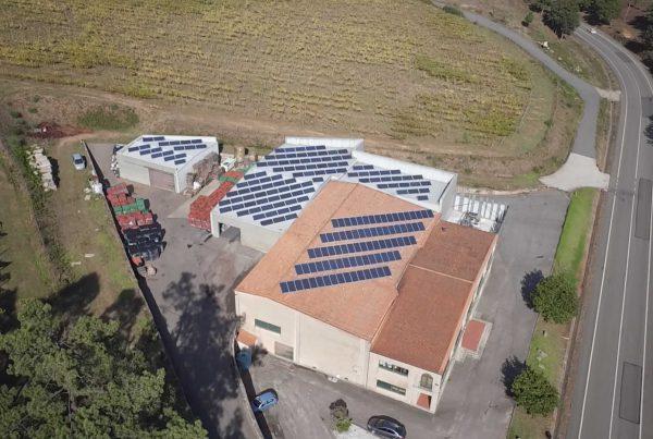 Ampliación de cubierta solar fotovoltaica para autoconsumo en Adegas Valmiñor, Pontevedra - EDF SOLAR