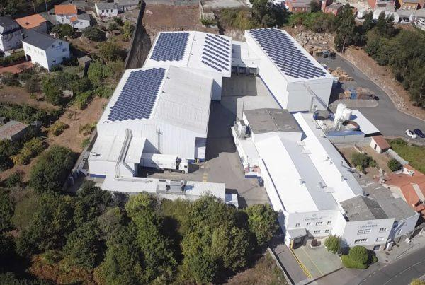 Instalación de autoconsumo industrial en Congalsa, Ribeira, A Coruña - EDF SOLAR