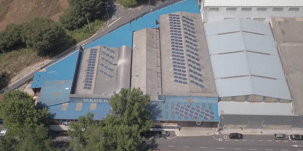 Instalación de autoconsumo en Maderas Sampayo, Ourense - EDF SOLAR