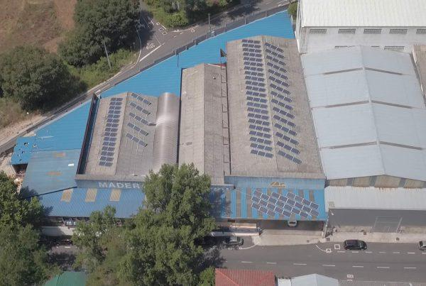Instalación de autoconsumo en Maderas Sampayo, Ourense - Eidf Solar