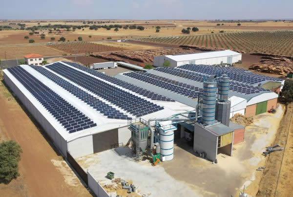 EDF SOLAR - Instalación de autoconsumo en la empresa Alicen, Toledo