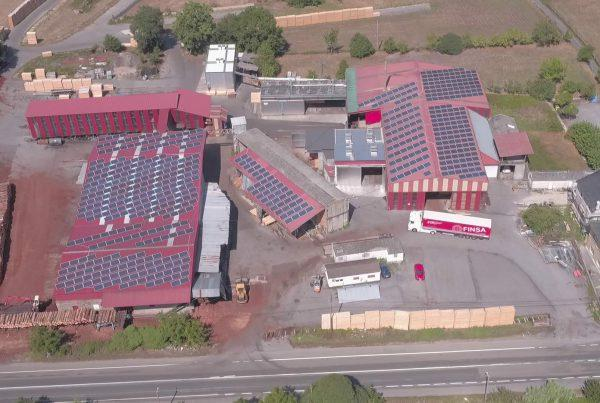 Cubierta solar fotovoltaica para autoconsumo en Mader Campo, Lugo - Eidf Solar