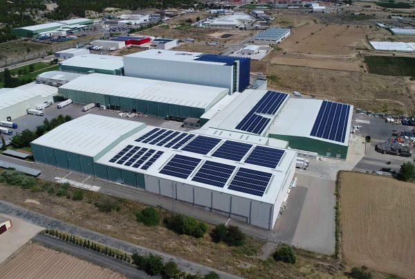 Instalación de Autoconsumo Industrial en Frinavarra, Navarra - EDF SOLAR