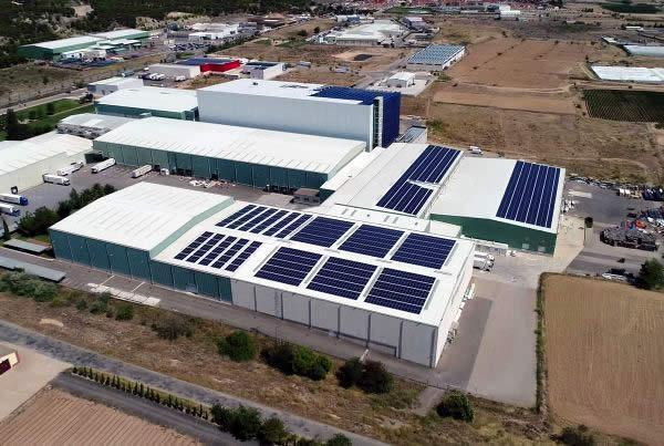EDF SOLAR - Instalación de autoconsumo en la empresa Frinavarra